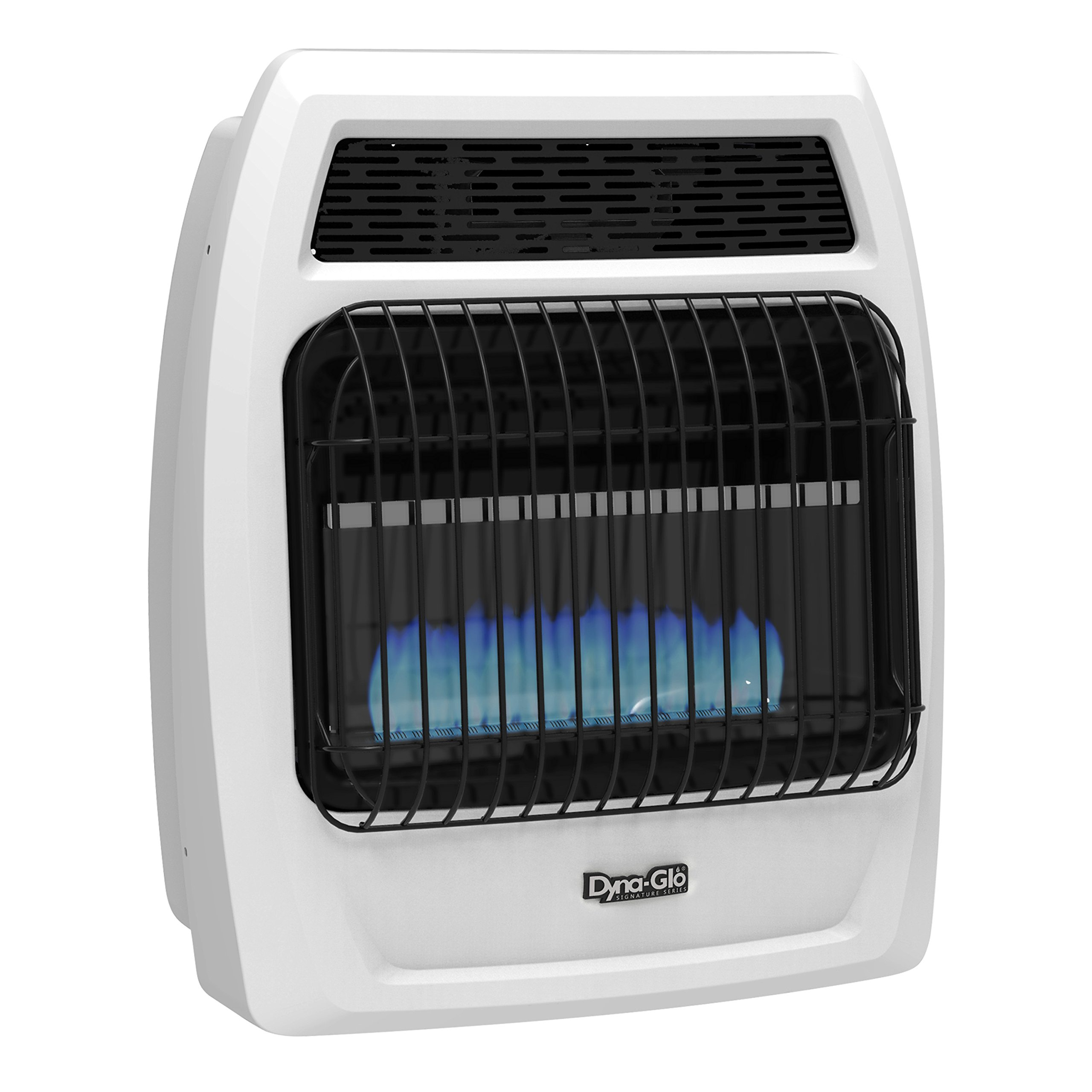 Dyna Glo BFSS20NGT-2N 20,000 Btu Natural Gas Blue Flame Vent Free Thermostatic Wall Heater 20K NG T-Stat