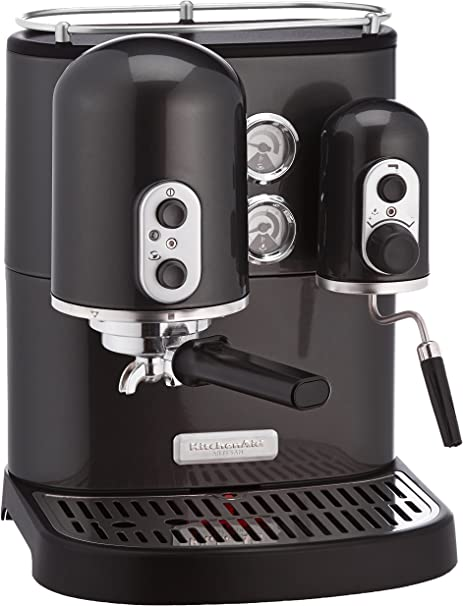 KitchenAid Artisan - Cafetera (Independiente, Negro, Espresso machine, De café molido, Café, Café expreso, 2,5L): Amazon.es: Hogar