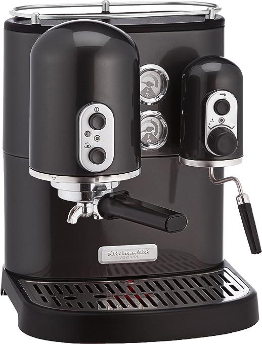 KitchenAid Artisan - Cafetera (Independiente, Negro, Espresso ...