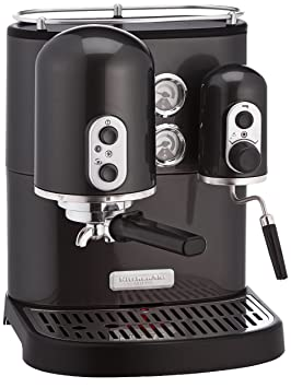 KitchenAid Artisan - Cafetera (Independiente, Negro, Espresso machine, De café molido,