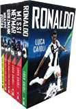 Football Icons around the world - Messi, Ronaldo, Neymar, Griezmann, Mbappe, Pogba (6 X Books Collection Set - Football Super Star Legends)