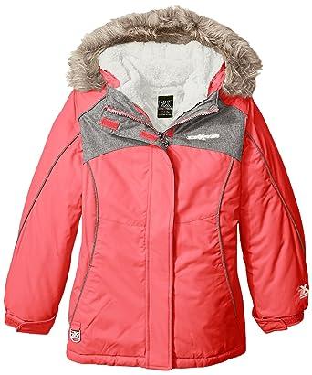 8e394b092 Amazon.com  ZeroXposur Little Girls  Emmeline 3 in 1 Systems Jacket ...
