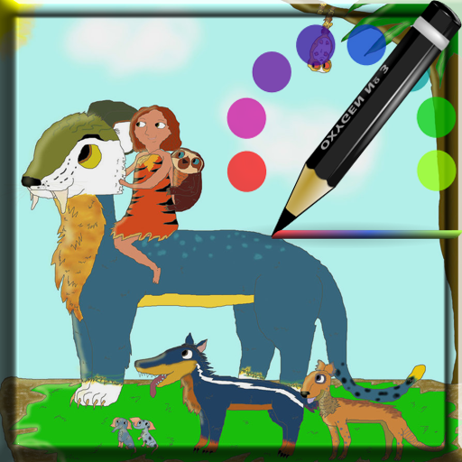 coloring-croods-pro
