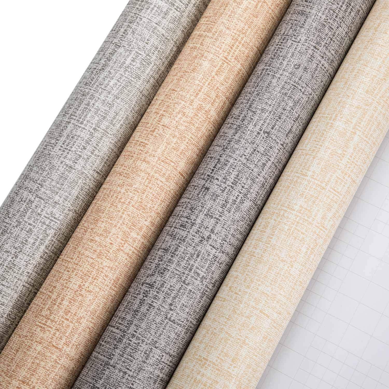 5M pegatinas de pared pegar pel/ículas para sala de estar TV fondo de pared azul claro Pegatinas de muebles pegatinas impermeables de papel tapiz 0.61