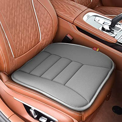 RaoRanDang Car Seat Cushion Pad for Car Driver Seat Office Chair, Computer Chair with Memory Foam (Gray): Automotive