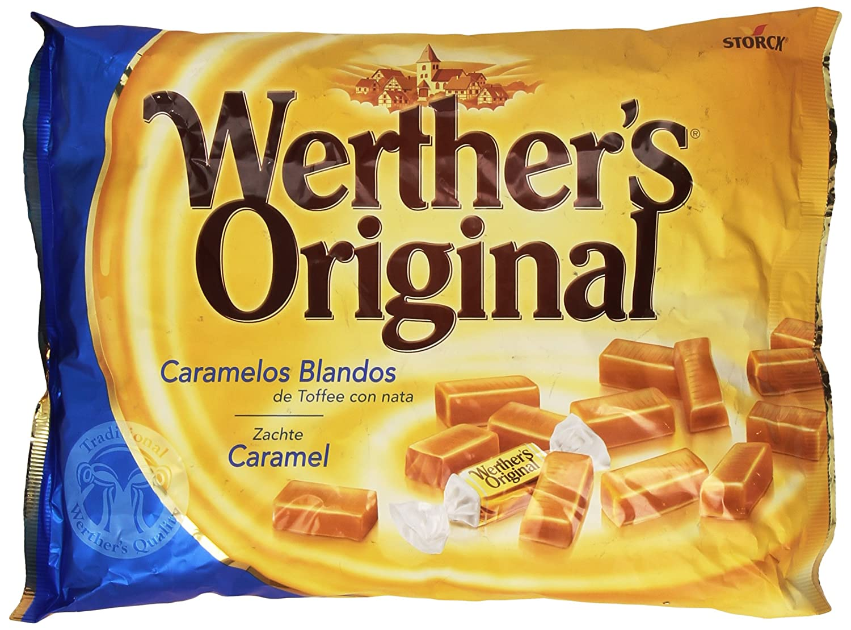 WertherS Original - Caramelos blandos de toffee con nata - 1000 g