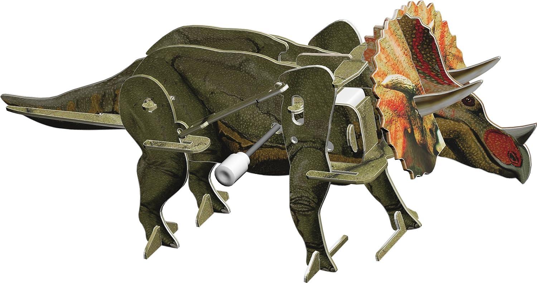 Smithsonian Mini 7 Brachiosaurus 3D Build /& Play Motorized Puzzle Skullduggery Inc