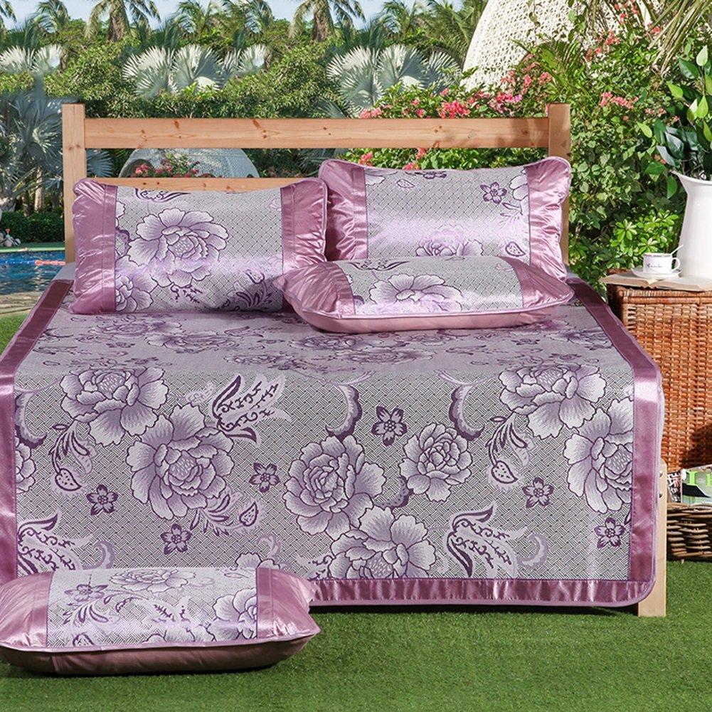 WENZHE Matratzen Matratze Sommerschlafmatte Bettmatte EIS Seide Sommer Schweißabsorbierend Kühlung Atmungsaktiv, 8 Größen, 6 Farben Strohmatte Teppiche
