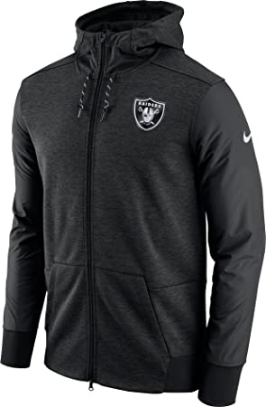 size 40 0ee52 0c491 Nike NFL Oakland Raiders FZ Travel Hoodie Small: Amazon.co ...