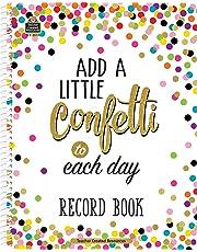 Teacher Created Resources 3570 Confetti Record Book