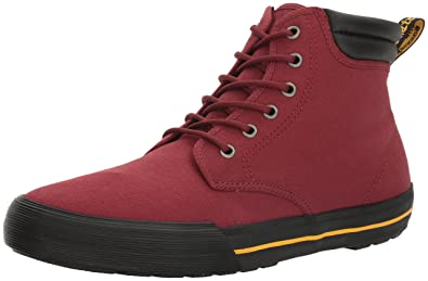 Dr. Martens Men's Eason Ankle Bootie, Cherry Red, 10 UK/11 M