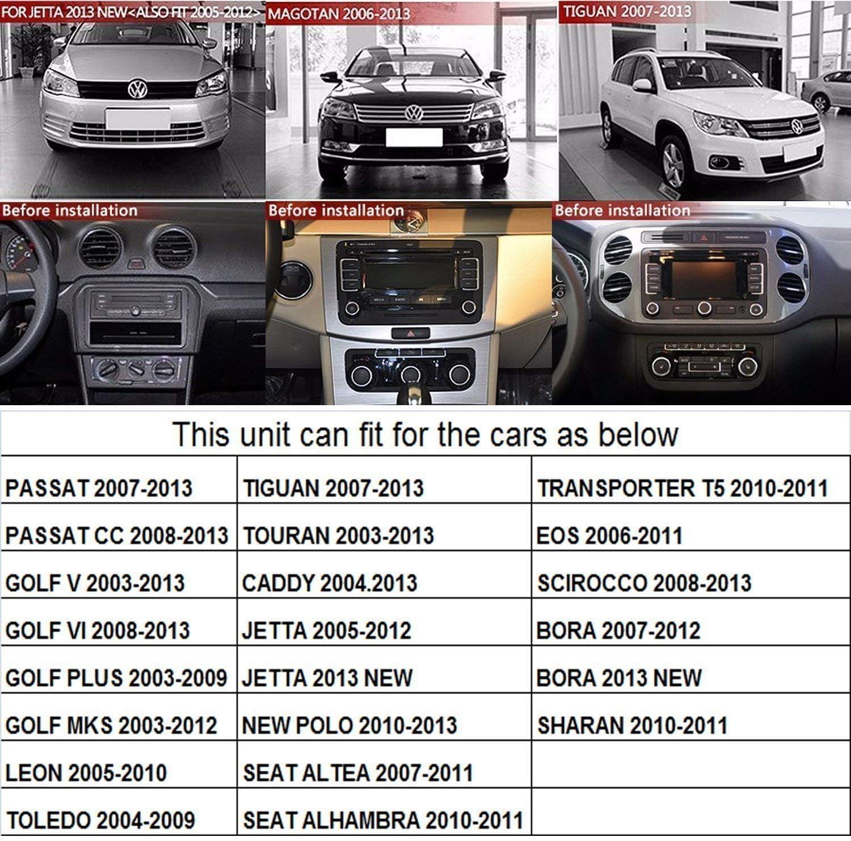 KKXXX S8 Car Stereo Navegación GPS Polo Golf 5 6 Polo Passat B6 CC ...