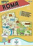 Mappa di Roma illustrata. Ediz. multilingue