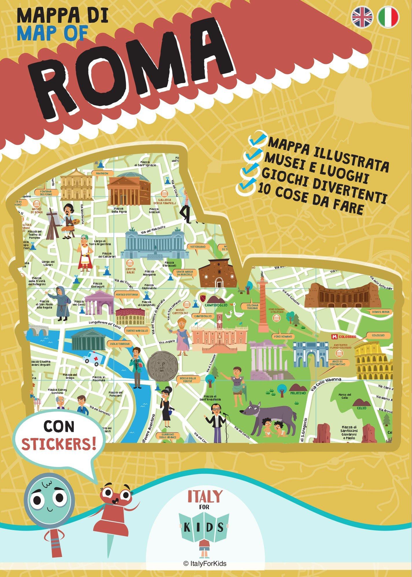 Cartina Eur Roma