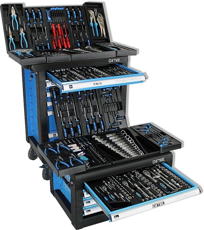 Dete. bigboy Taller carro + Caja de herramientas con herramientas ...