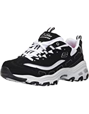 Skechers Women's D'Lites-Biggest Fan Low-Top Sneakers