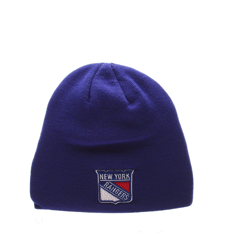 16f386ea1f7 NHL Cuffless Winter Knit Beanie Toque Hat ZHATS Skullies   Beanies Zephyr  Edge Skull Cap