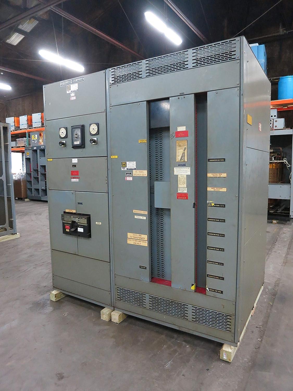 Square D QED 1200A 480V LIG Main Breaker I-Line Panel 3Ph 4W ... on