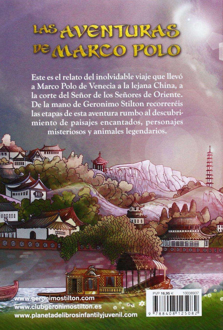 Las aventuras de Marco Polo Grandes historias Stilton: Amazon.es ...
