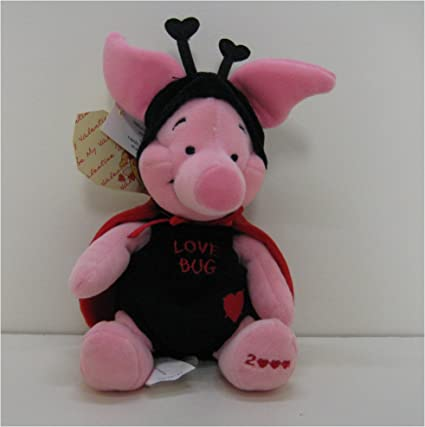 Disney Bean Bag Plush Valentine Piglet