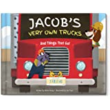 Personalized Trucks Vehicles Tractors Custom Spell Out My Name Book | I See Me!