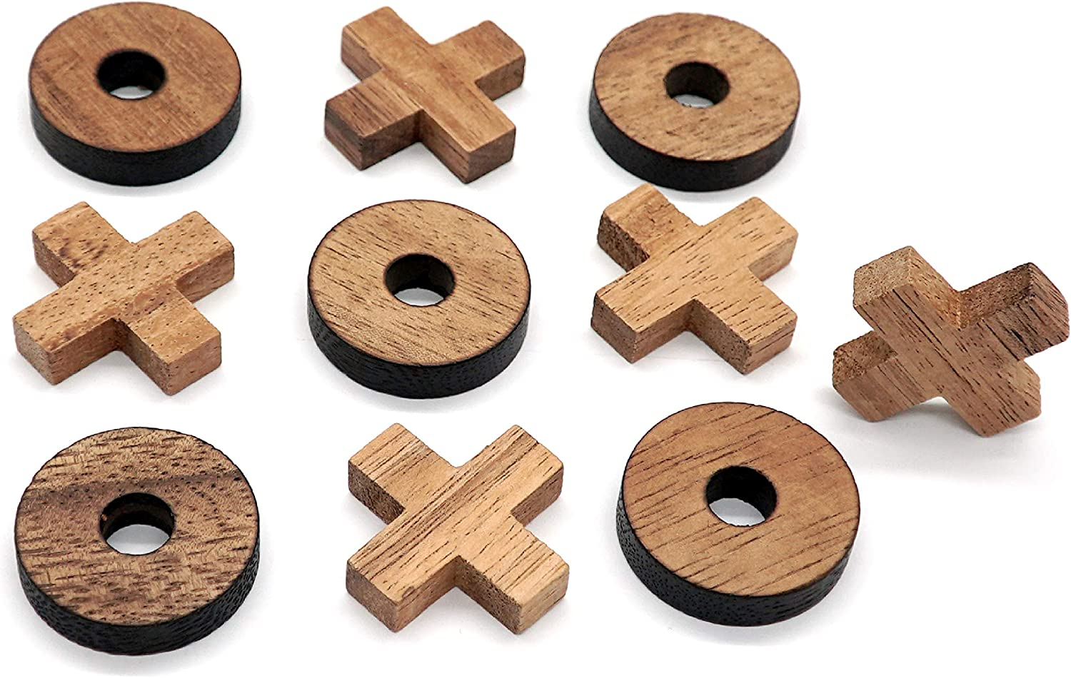 Tic Tac Toe Wood Coffee Tables Family Games to Play and a Classic Game Home Decor for Living Room Rustic Table Decor and Use as Game Top Wood Guest Room Decor only OX Piece