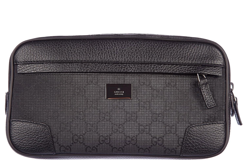 995241133e82 Gucci men's belt bum bag hip pouch logo black: Amazon.co.uk: Shoes & Bags