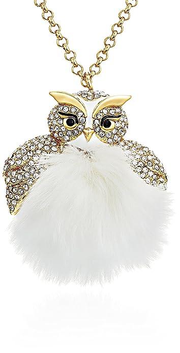 d4f9f2e06ea79 Kate Spade New York Womens Star Bright Owl Pendant Necklace