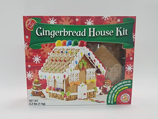 Create A Treat Large Gingerbread House Kit 2 22 Lb