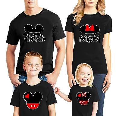 7fdbeedc1 Disney Family Trip #9 Disney Mom Dad Boys Girls Mickey Head and Ears 2019 T