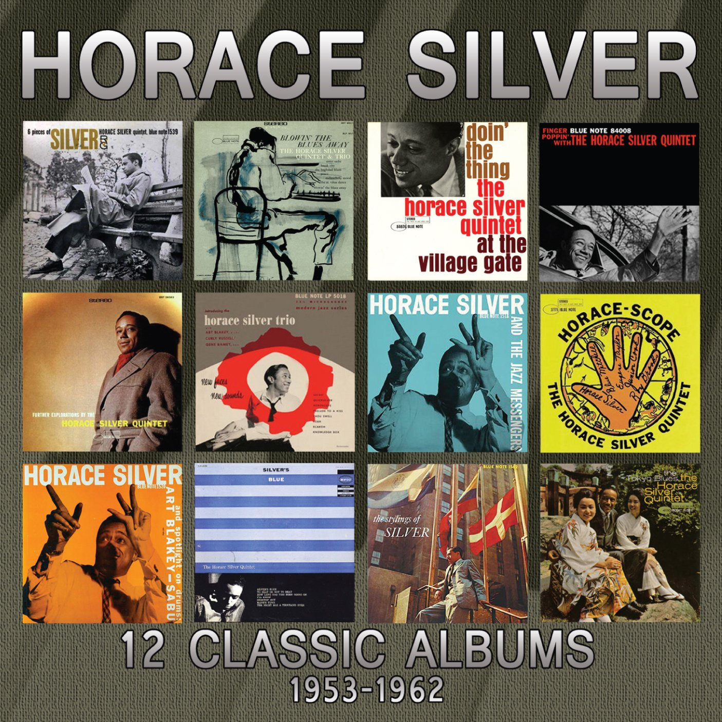 12 Classic Albums: 1953-1962 (6CDs)