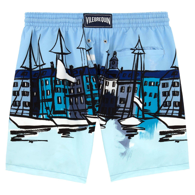 3ea5e5c37d Vilebrequin Le Port Swim Shorts - Men - XXXL - Frost Blue: Amazon.co.uk:  Clothing