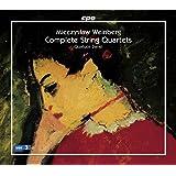 ミェチスワフ・ヴァインベルク:弦楽四重奏曲全集(Mieczyslaw Weinberg:Complete String Quartets)[6CDs]