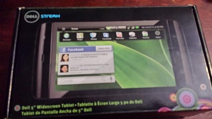 Amazon com: Dell Streak 5 Unlocked Android Tablet Smartphone