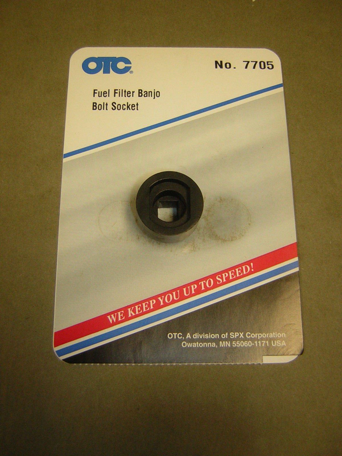OTC 7705 Fuel Filter Banjo Bolt Socket For Honda & Acura Cars