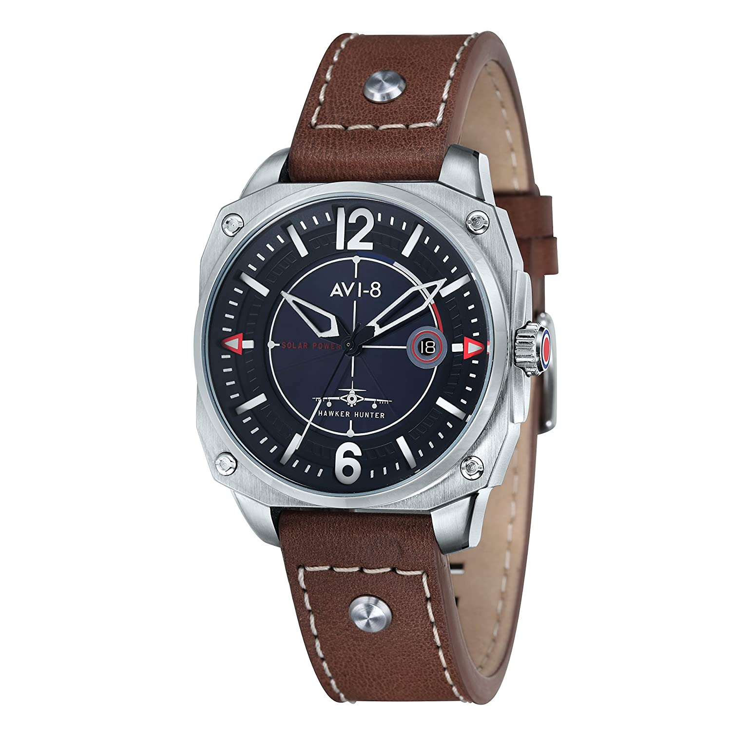 AVI-8 Herren- Armbanduhr Hawker Hunter Analog Quarz AV-4039-01