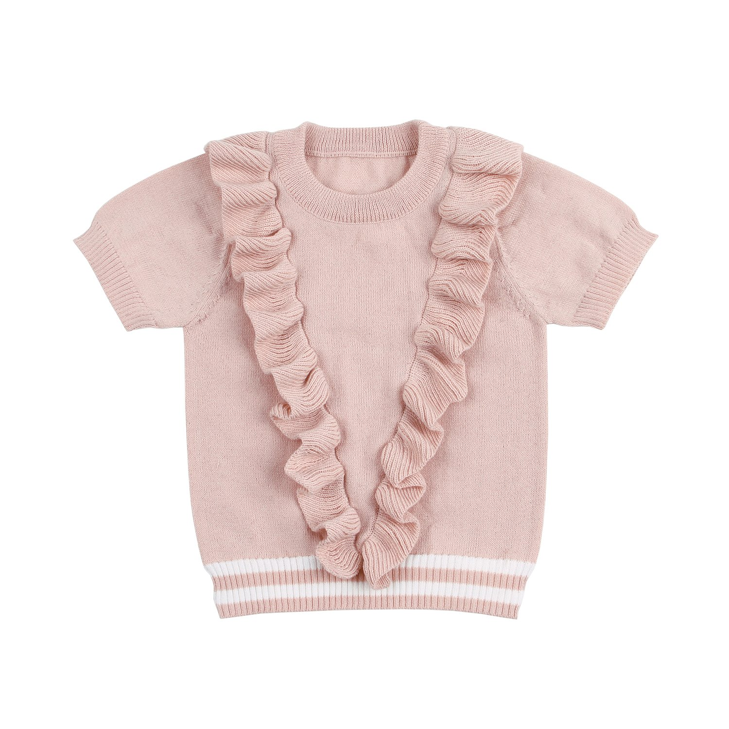 mimixiong Baby Girl Sweatshirt Long Sleeve Pullover Knitwear Clothes