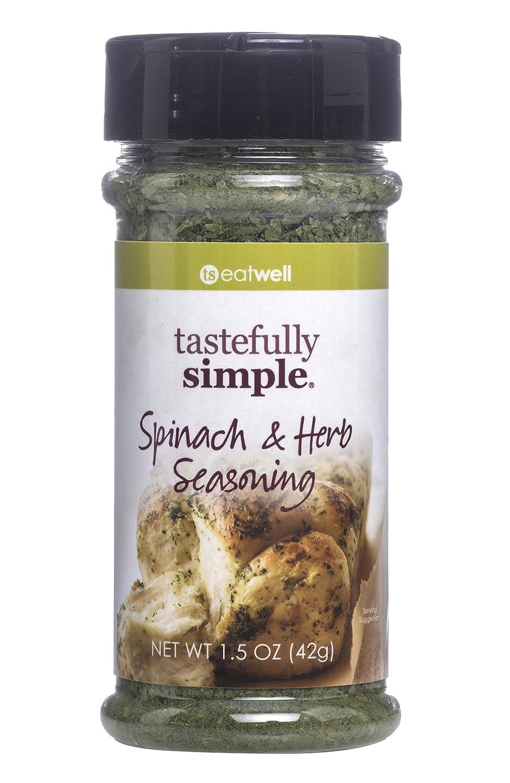 Tastefully Simple Spinach & Herb Seasoning - 1.5 oz
