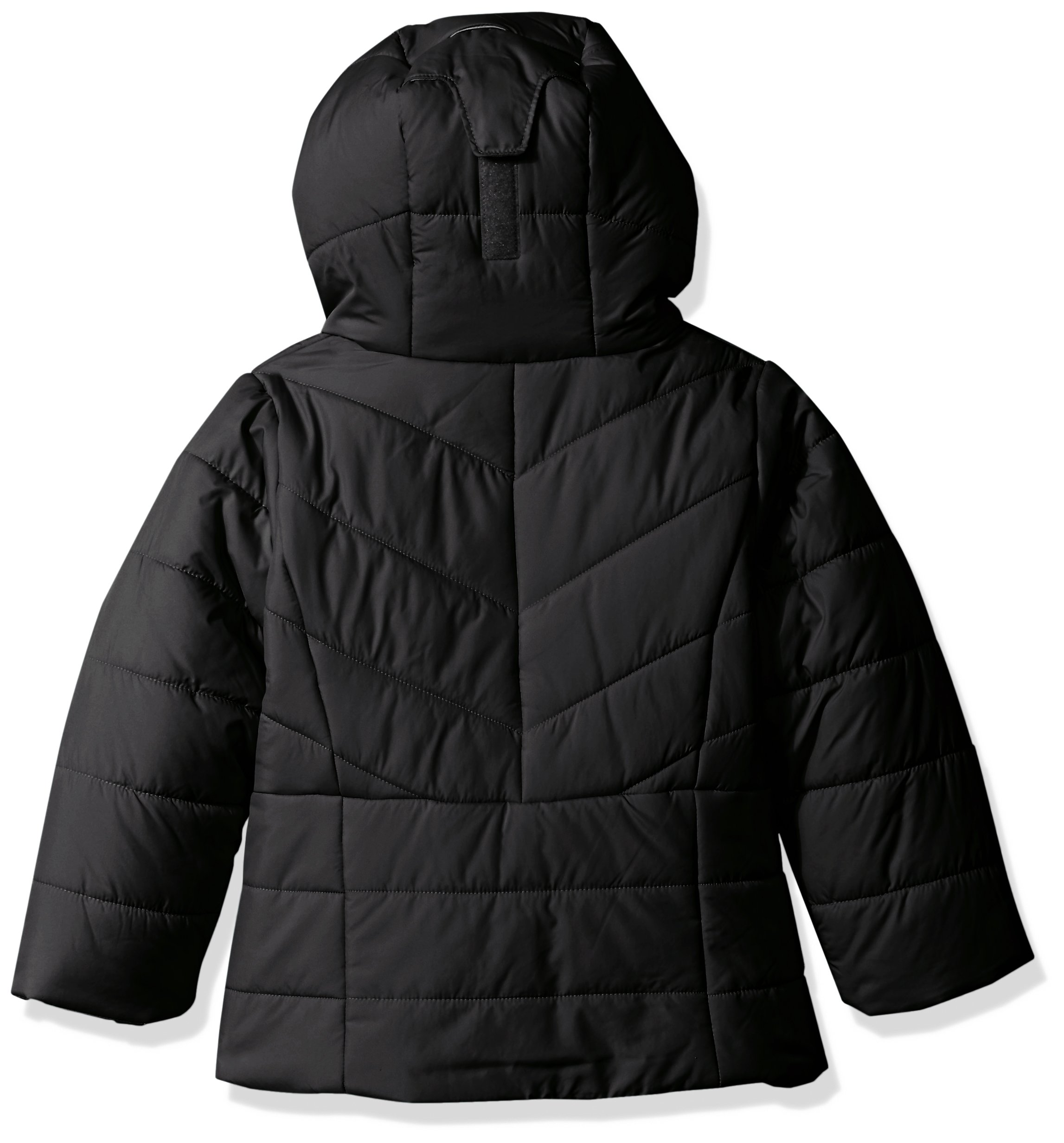 Columbia Girls' Toddler Katelyn Crest Jacket, Black, 3T by Columbia (Image #2)
