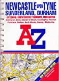 A-Z Street Atlas of Newcastle-upon-Tyne, Sunderland and Durham