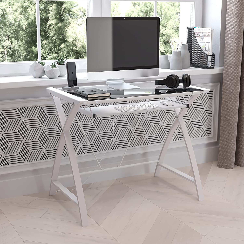 Flash Furniture Computer Desks, White