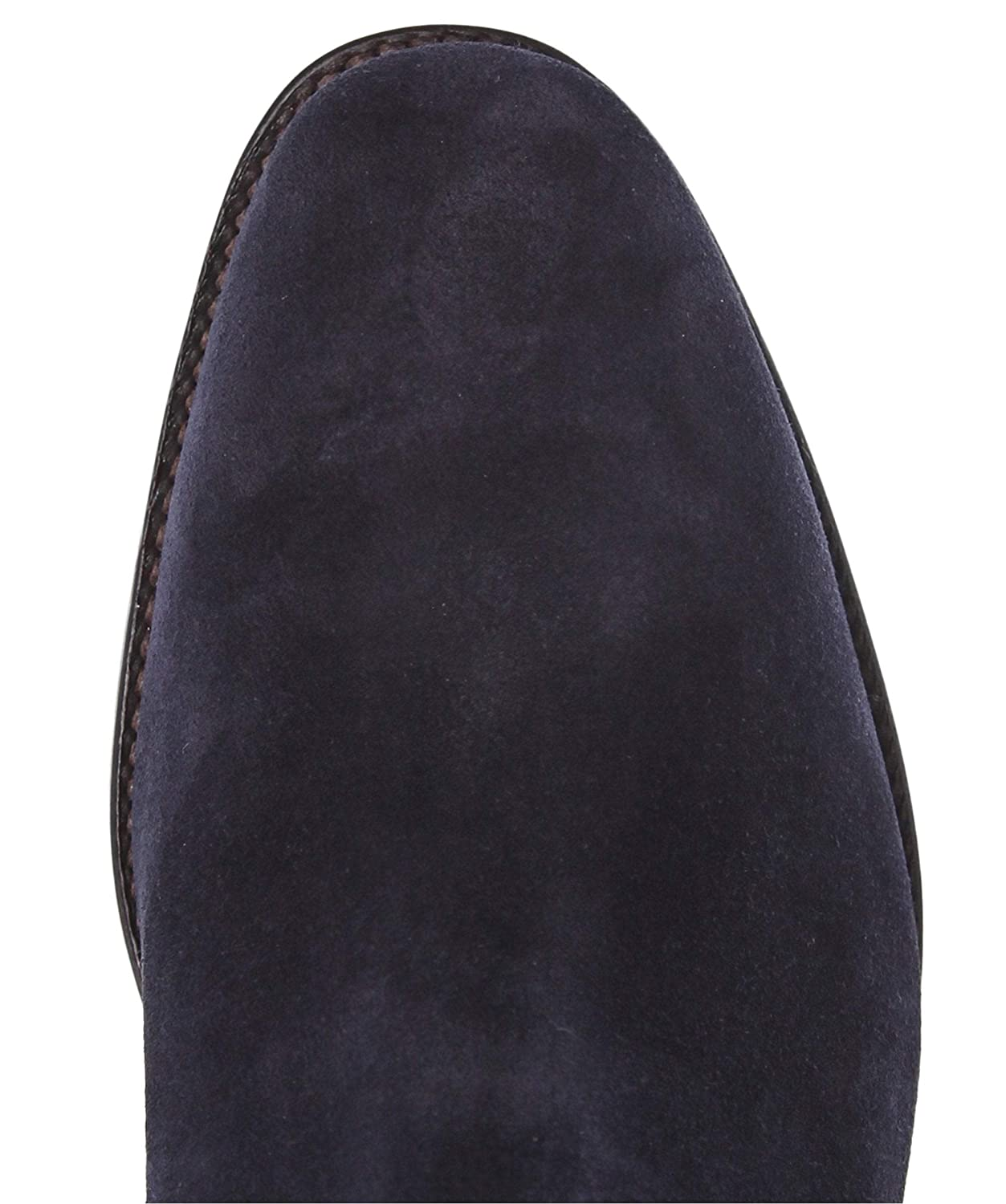 Boots Loake Mens Suede Apsley Chelsea Boots Navy Men ...