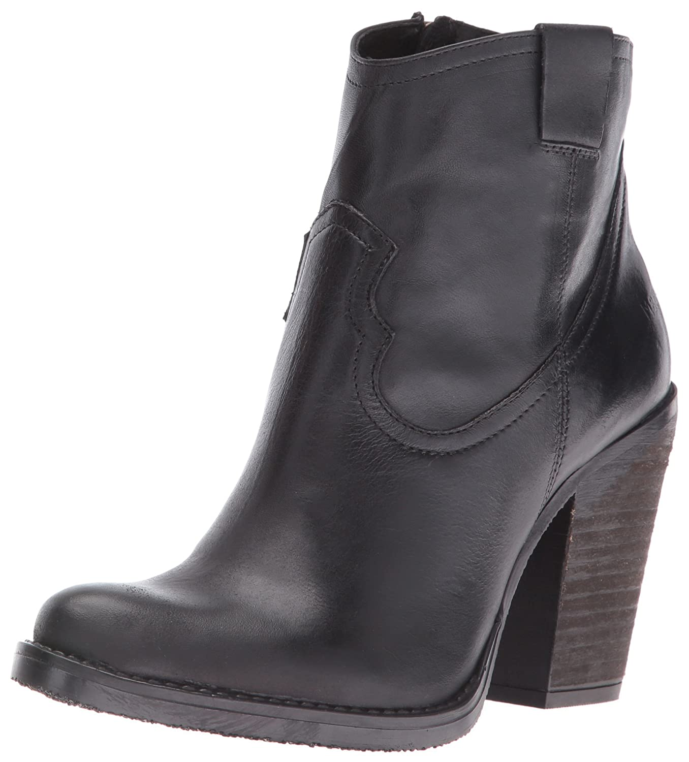 Musse & Boot Cloud Women's Josie Western Boot & B01L6S0J7I 37 EU/6-6.5 M US|Black 967928