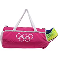 POLESTAR Pink Travel Duffel Luggage Girls/Women Gym Bag with Shoe Pocket