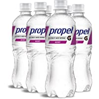 Propel Water, Berry Flavored Water With Electrolytes, 16.9 Fl Oz (pack of 6)