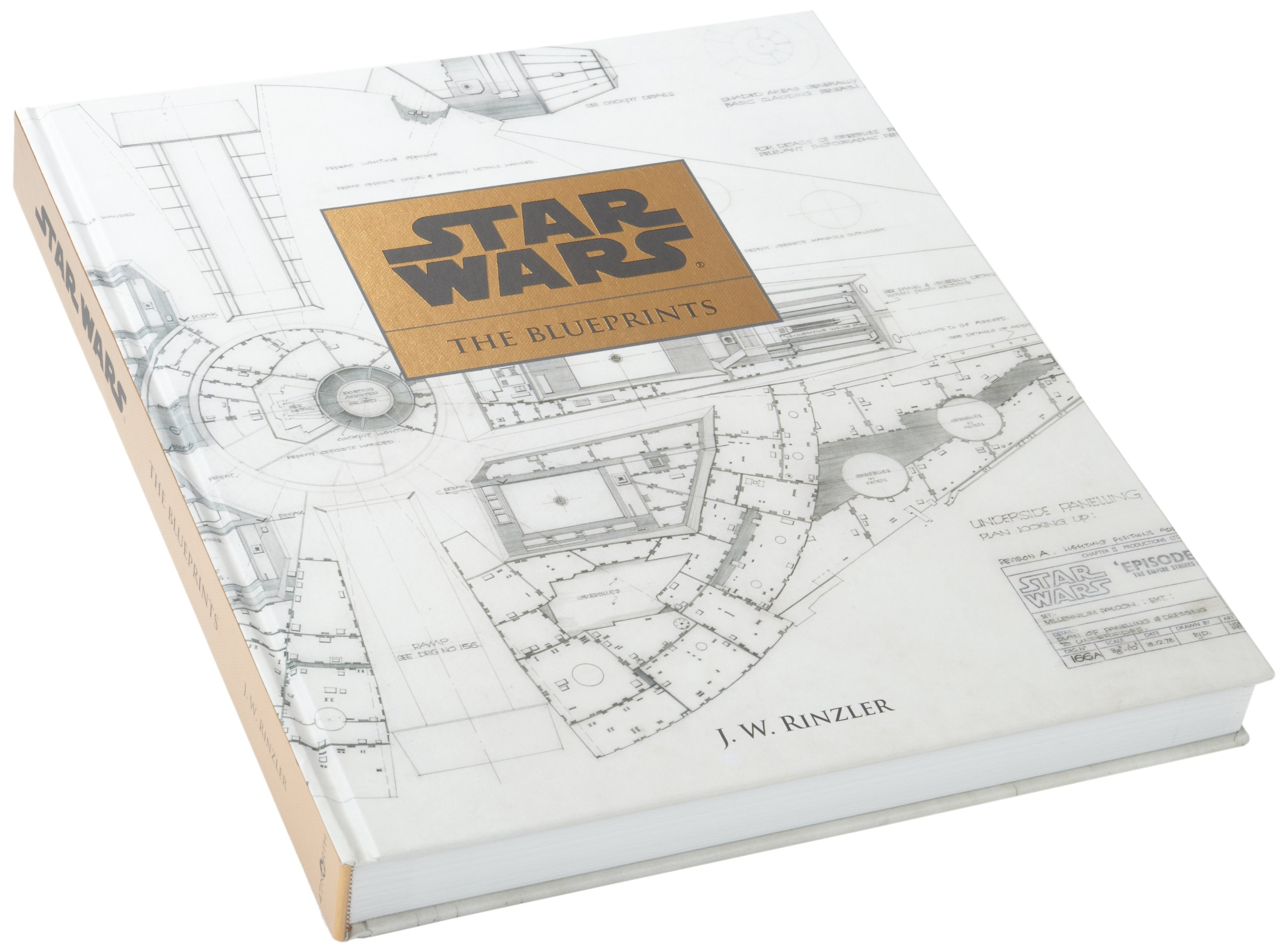 Star Wars The Blueprints J W Rinzler 9781611097962 Amazoncom