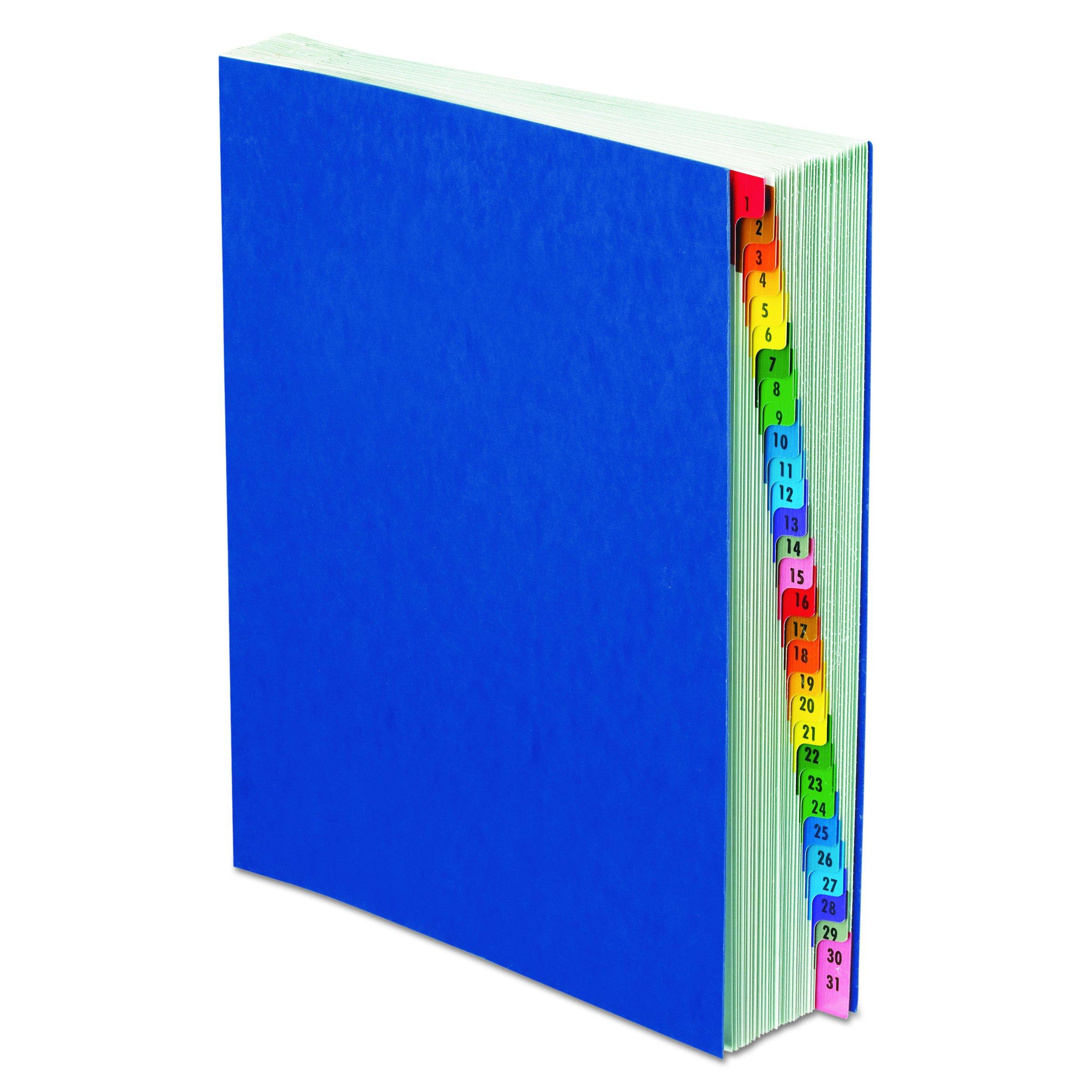 Pendaflex Expanding Desk File, Daily (1–31), Letter Size, Blue, Each (11013)