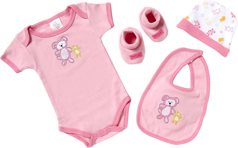 Koala Baby Pink Roses Layette Set 0-3 Months