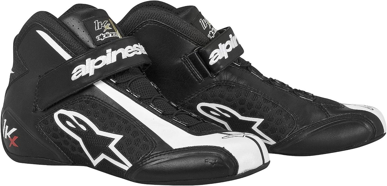 Alpinestars 2712113-12-12.5 Black//White Size-12.5 Tech 1-KX Karting Shoes
