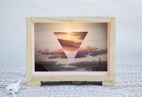 Lámparas,Ligth box, Cajas de luz con fotografías, regalos especiales: Amazon.es: Handmade